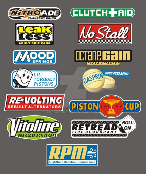 Cars Piston Cup Racing Series