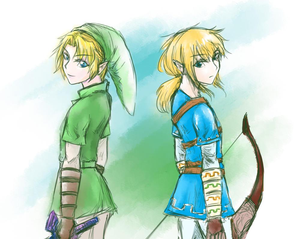 Zelda Fan Art - Quick Sketch by sekaixsora