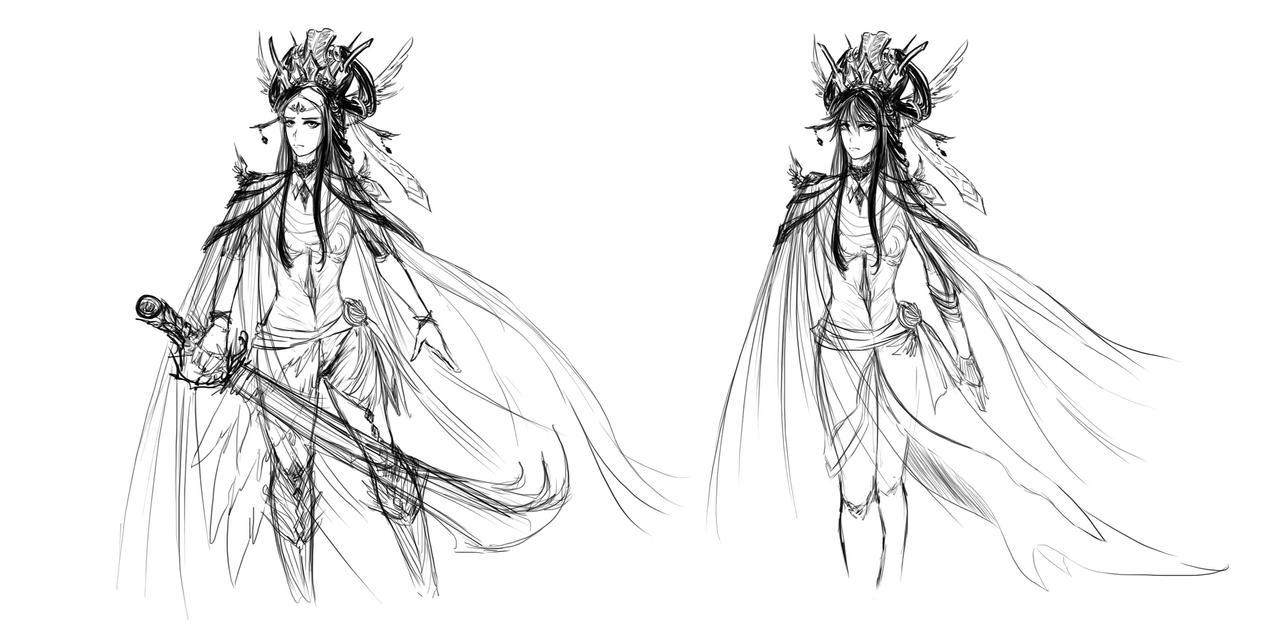 Random design drafts by sekaixsora