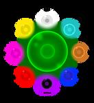 Mytical orb And Eight Elemental orbs