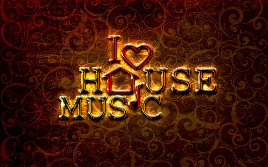 I love house music by giodim on deviantart for House music art