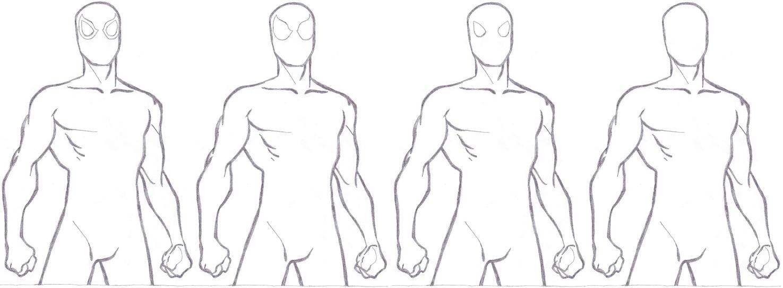 Spider-Man Base by segamarvel