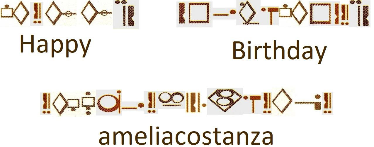 Happy Birthday ameliacostanza! by segamarvel