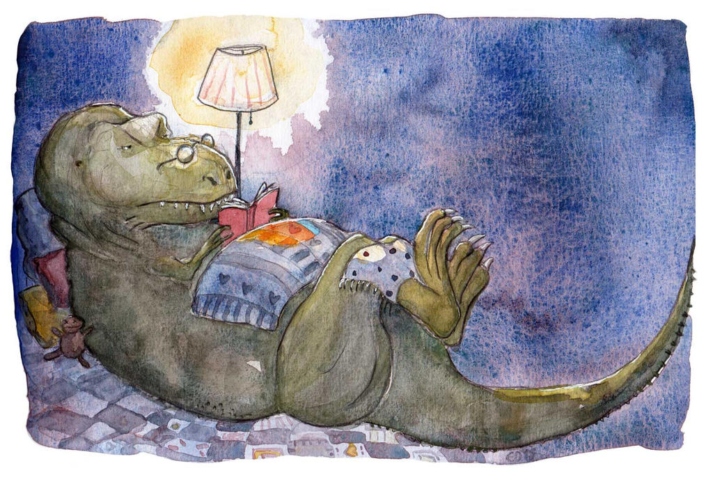 Reading night by sunnyfiny
