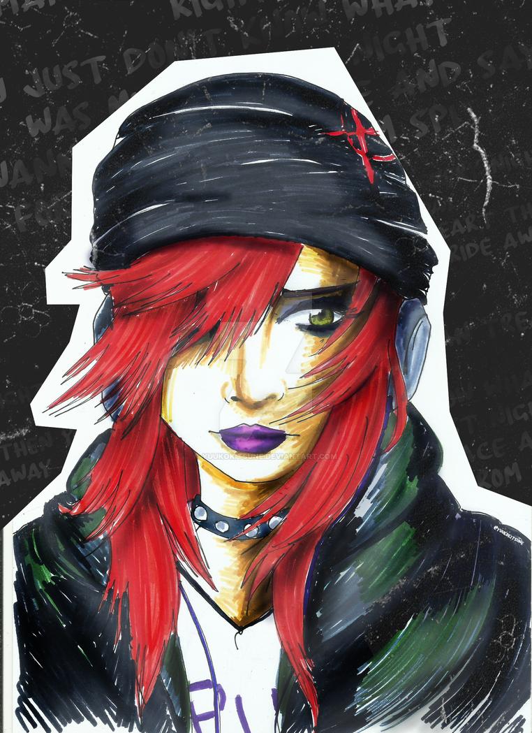 Rocker Girl by YuukoKitsune