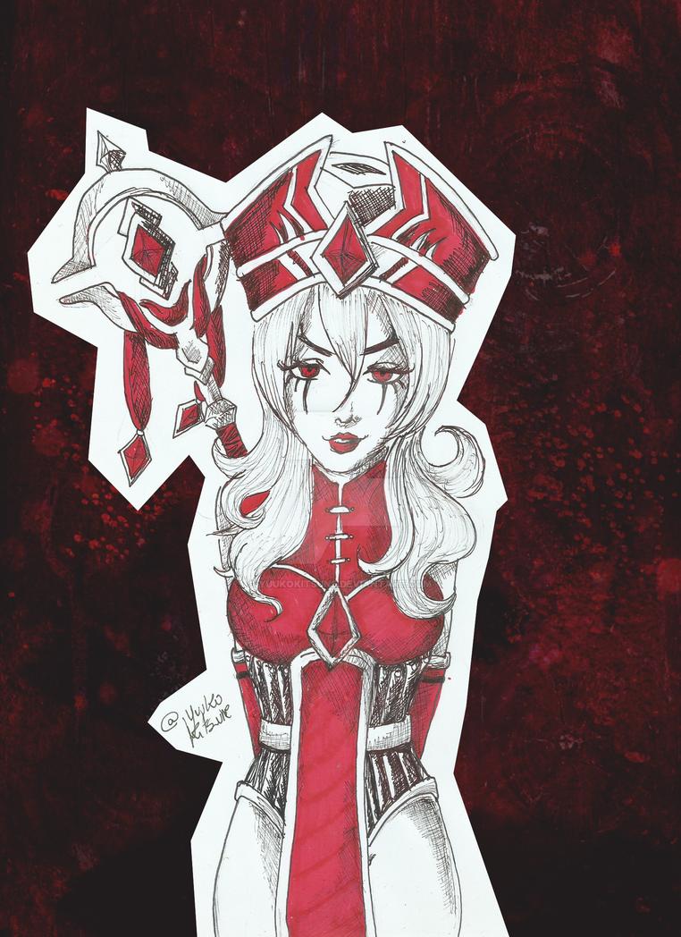 Inquisitor Whitemane by YuukoKitsune