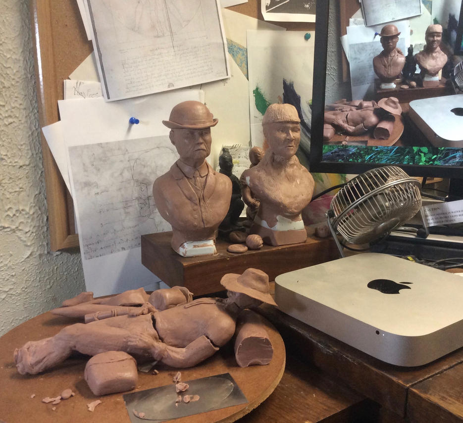 Holmes and Watson (Bookends WIP) by Cleaverroot