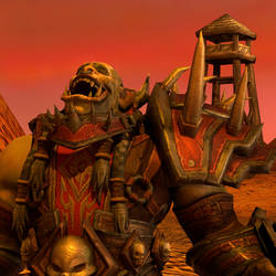 Saurfang laughing by Alza3D
