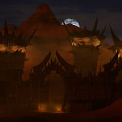 Horde Desert Fortress by Alza3D