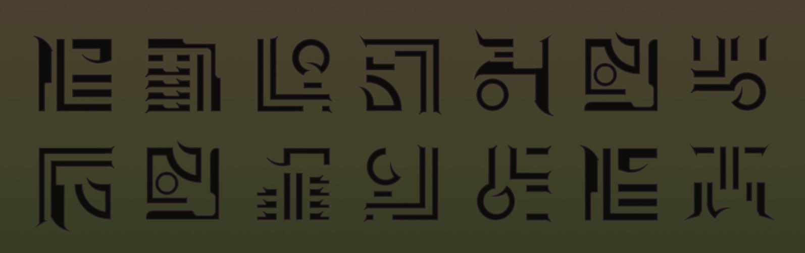Blade 3 Trinity glyph's by Espertjuh
