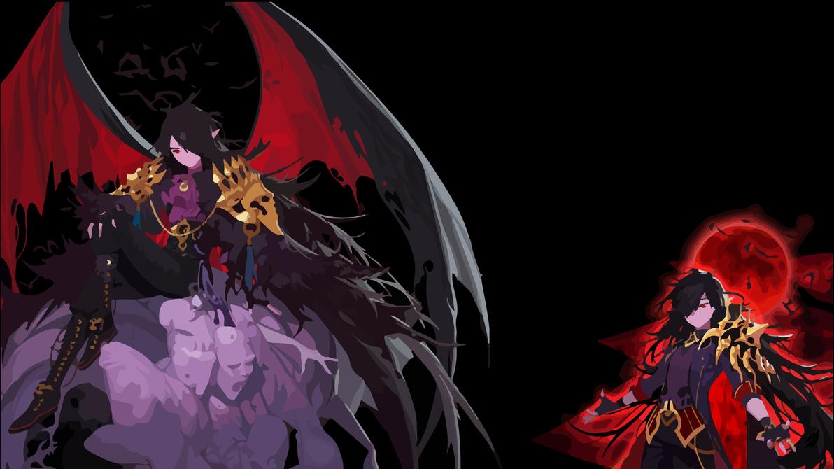 Blood Mage Wallpaper By NotANumber0
