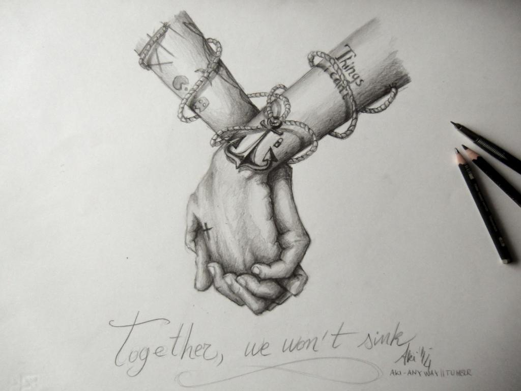 Together, we won't sink by AkiTheBonez