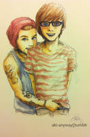 Louis and Will by AkiTheBonez
