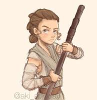 Rey - Star Wars 7 by AkiTheBonez