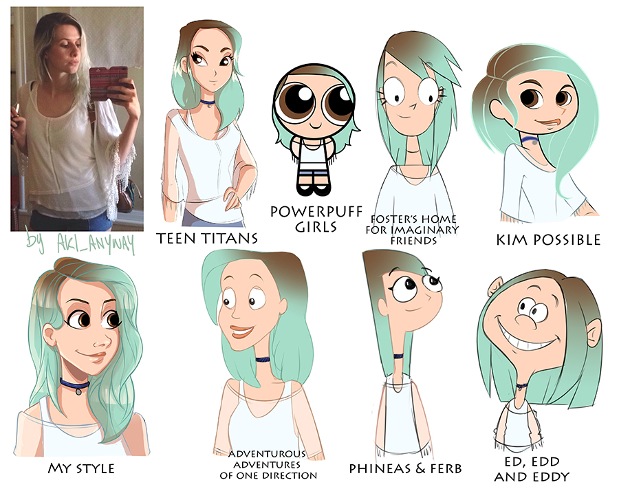 #StyleChallenge by AkiTheBonez on DeviantArt