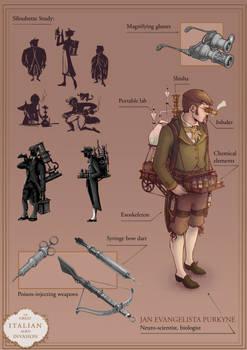 Steampunk Portfolio 2/6