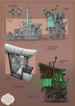 Steampunk Portfolio 5/6
