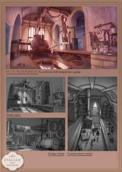 Steampunk Portfolio 6/6