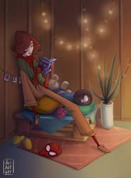 Cozy Spider Girl