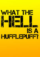 Hufflepuffs are good finders. by amethystsmile870