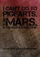 Pigfarts is on Mars. by amethystsmile870