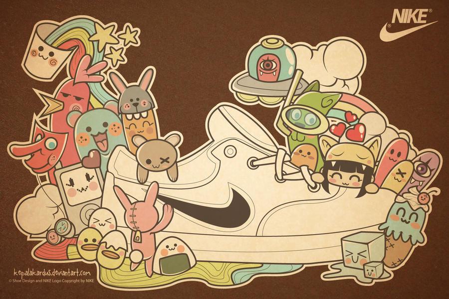 Kawaii Shoes by kepalakardus