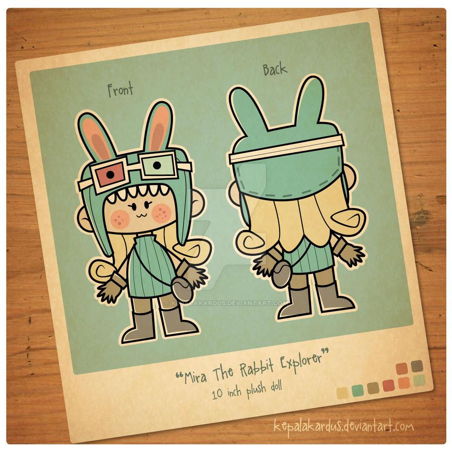 Mira The Rabbit Explorer by kepalakardus
