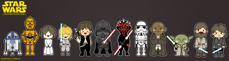 Kawaii Star Wars by kepalakardus Kawaii Star Wars by kepalakardus