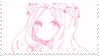 -Stamp: Anime Girl (1) by galaxystamps