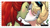-Stamp: Poison Ivy x Harley Quinn (2) by galaxystamps