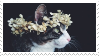 -Stamp: Kitty Flower Crown (2) by galaxystamps