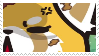 -Stamp: Aggressive Retsuko (4) by galaxystamps