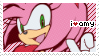 -Stamp: Amy Rose by galaxystamps