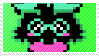 -Stamp: Ralsei by galaxystamps