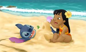 Lilo and Stitch by Kahimi-chan