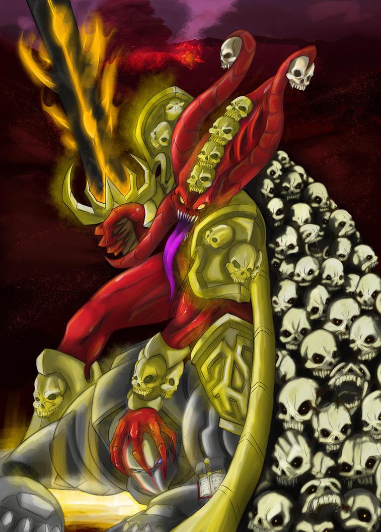 Skulltaker by SlicedWatermelon
