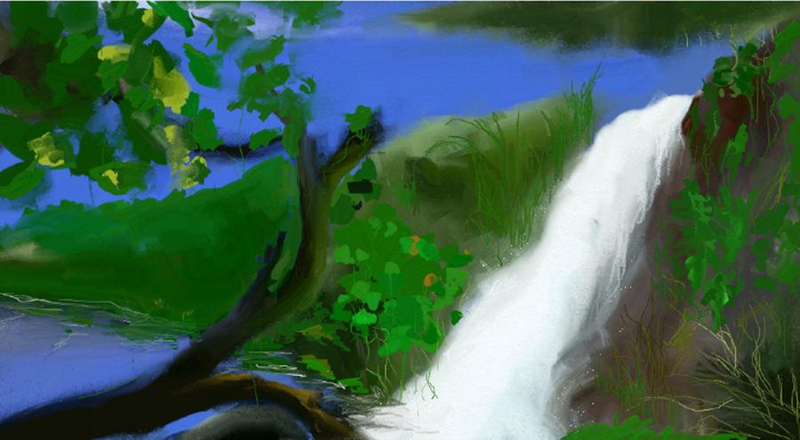 water falls II