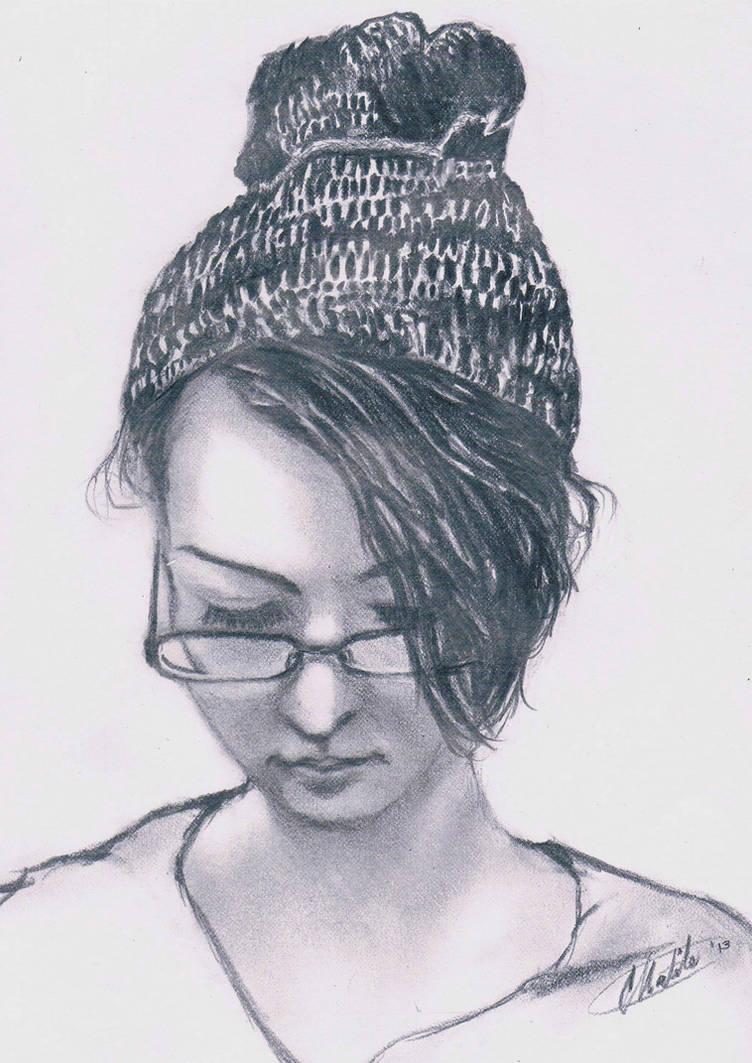 portrait study2 by Mr-Springserpent