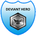 Deviant Hero Badge by ETSChannel