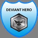 Deviant Hero Badge by ETSChannel