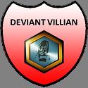 Deviant Villian Badge by ETSChannel
