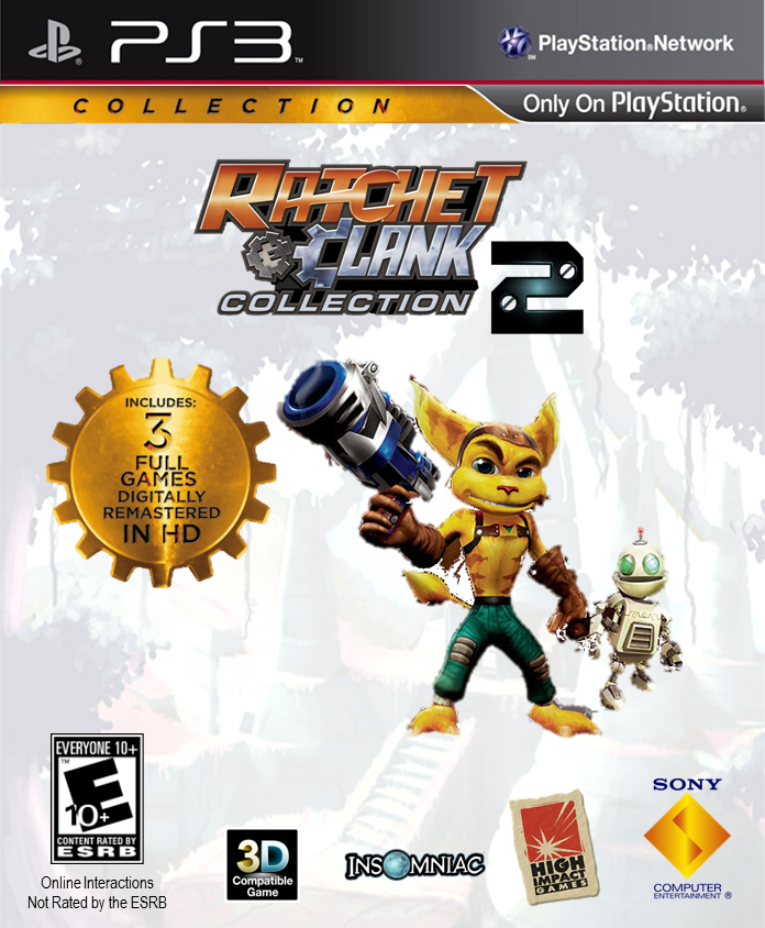 6dba374cf7bb ... The Ratchet and Clank Collection 2 Box Art by ETSChannel ... special  for shoe . ...