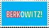 BERKOWITZ! Stamp by ETSChannel