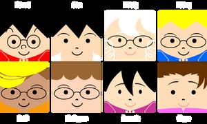 BERKOWITZ! Character Icons