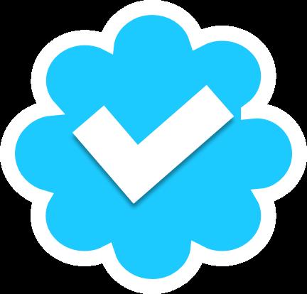 Homemade Verified Twitter Icon