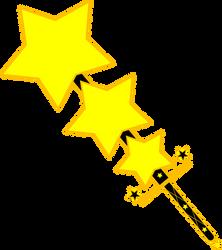 Wacky Warp Star Magisword