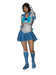 Sailor Mercury Outfit WIP