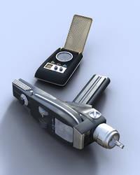 Star Trek TOS Communicator and Phaser
