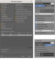 FBX from DAZ Studio to Blender