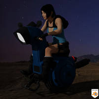 One-Wheel Motorcycle